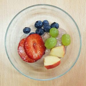 Gesundes Schokofondue mit Früchten Diaetologie Eberharter
