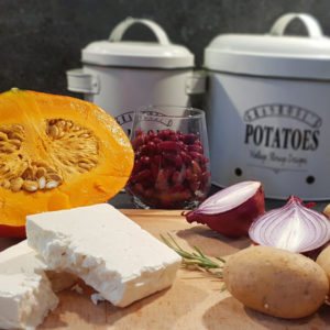 Ofengemüse-mit-Kürbis-Erdäpfel-Bohnen-Feta_Zutaten_Diaetologie-Eberharter