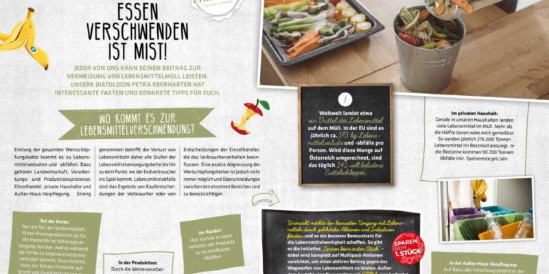 Unimarkt_Mundart_Essen-verschwenden-ist-Mist_Artikel_Diaetologie-Eberharter
