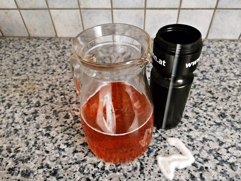 Elektrolytgetränke selbst gemacht - Variante 1 - Sirup